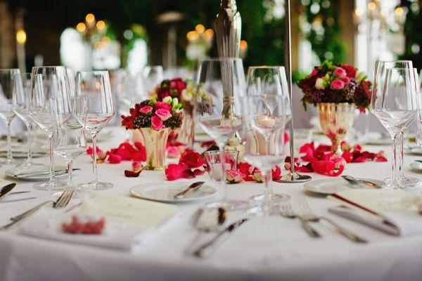 glassware party rentals